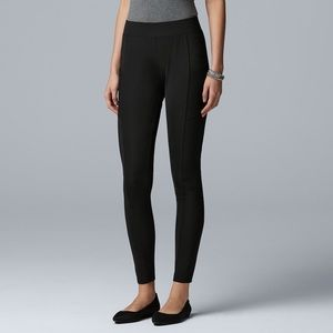 Women's Simply Vera Vera Wang Mesh Pocket Legging